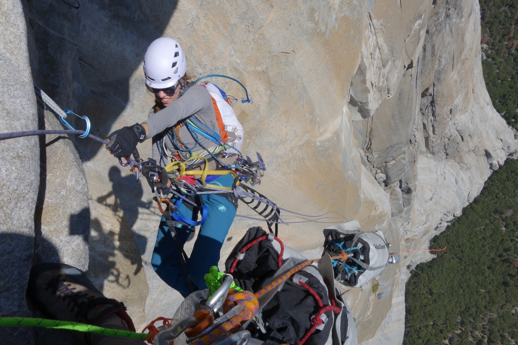 Jugging the Great Roof--Salathe Wall, El Capitan