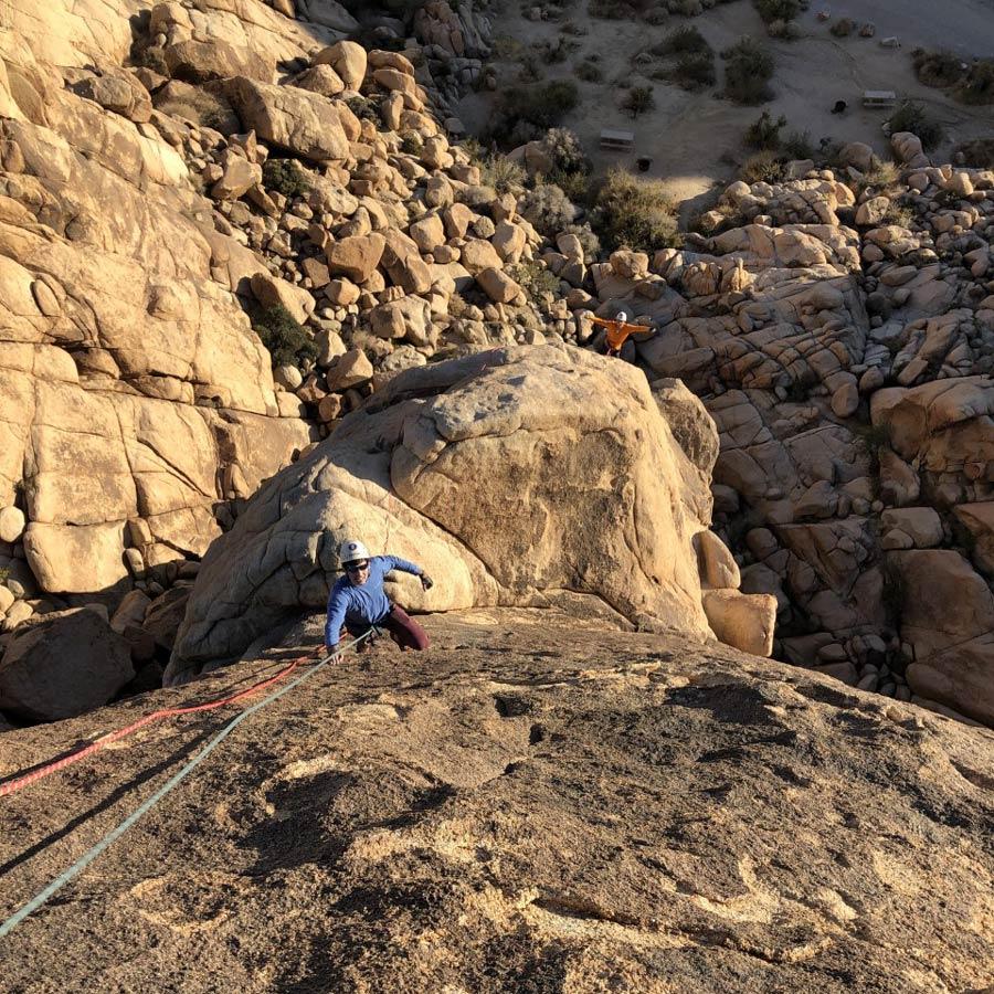 Advanced Rock Climbing 3