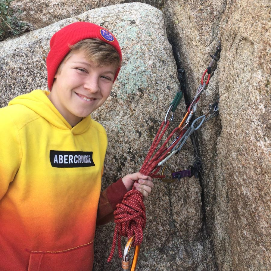 Advanced Rock Climbing 1