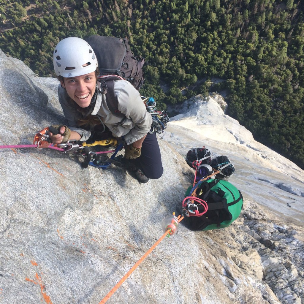 Vertical backpacking on the Triple Direct, El Capitan